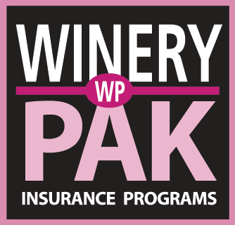 Winery PAK insurance for wineries & vineyards, wine producers, wine tasting rooms